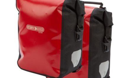 Ortlieb – Sport-Roller City – Rød/Sort 2 x 12,5L cykeltasker