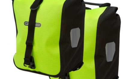 Ortlieb – Sport-Roller High Visibility –  Gul/Sort 2×12,5 liter