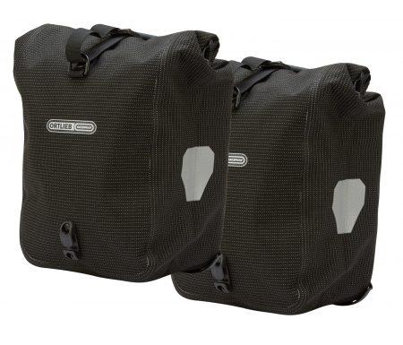 Ortlieb – Sport Roller – High Visibility – Sort 2×12,5 liter