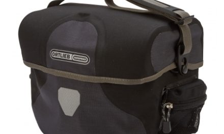 Ortlieb Ultimate 6 Plus Granite – Grå/sort – 8,5 liter