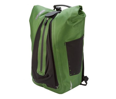 Ortlieb – Vario – Grøn 20 liter – Cykeltaske og rygsæk i én