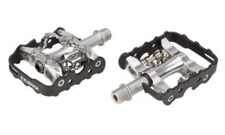 Pedaler Exustar Combi Lux Alm/SPD CNC aluminium