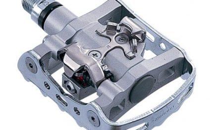 Pedaler Shimano Combi model PD-M324 inklusiv klamper