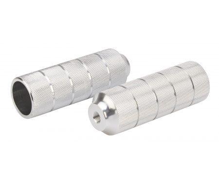 Pegs til BMX cykler –  Aluminium Sølv med 10mm gevind