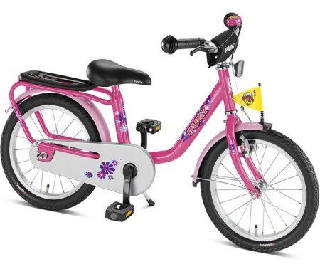 """Pigecykel Puky Z 6 stål 16"""" Pink"""