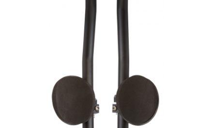 Point Tri-bøjle aluminium med armpuder – justerbar i længde