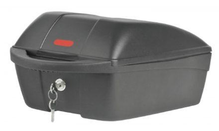 Polisport bagageboks til bagagebærer montering – med lås og 2 nøgler