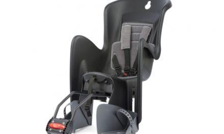 Polisport Bilby RS- Cykelstol – Tilt ryglæn – Stelmontering – Sort/Grå