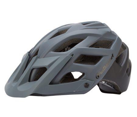 Polisport E3 – Cykelhjelm – Grå/sort