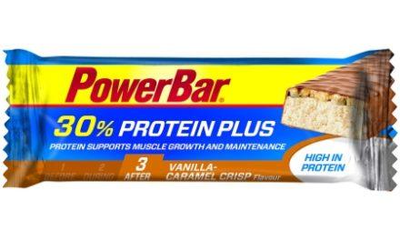 Powerbar 30% Proteinplus – Karamel/Vanilje 55 gram