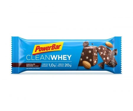 Powerbar Clean whey – Chocolate brownie – 60 gram