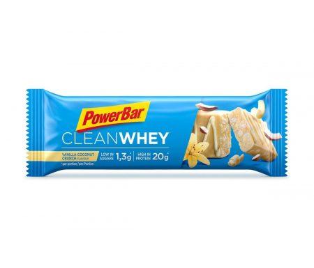 Powerbar Clean whey – Vanilla coconut crunch – 60 gram