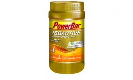 Powerbar IsoActive – Energidrik – Orange 600 gram