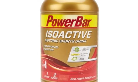 Powerbar IsoActive – Energidrik – Red fruit punch 1.320 gram