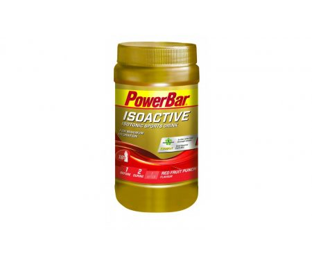 Powerbar IsoActive – Energidrik – Red fruit punch 600 gram