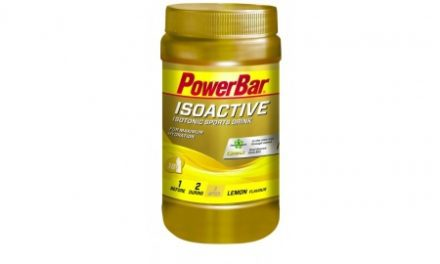 Powerbar IsoActive – Lemon 600 gram
