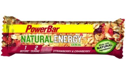 Powerbar Natural Energy – Jordbær og Tranebær 40 gram