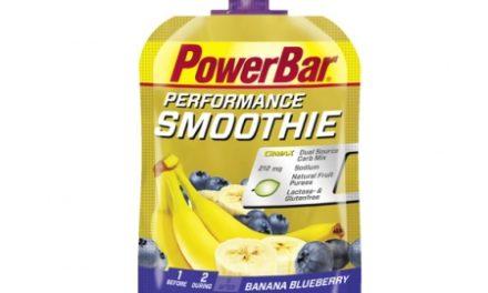 Powerbar Performance Smoothie – Banan og blåbær 90 gram