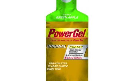 Powerbar Powergel – grøn æble med koffein 41 gram