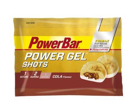 Powerbar – PowerGel shots med koffein – Vingummi – Cola