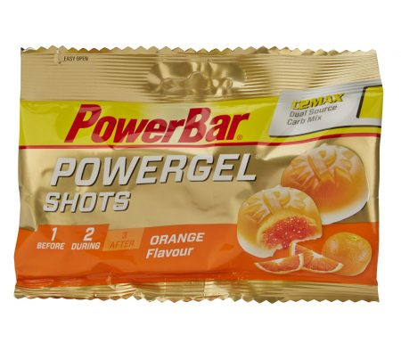 Powerbar – PowerGel shots – Vingummi – Appelsin