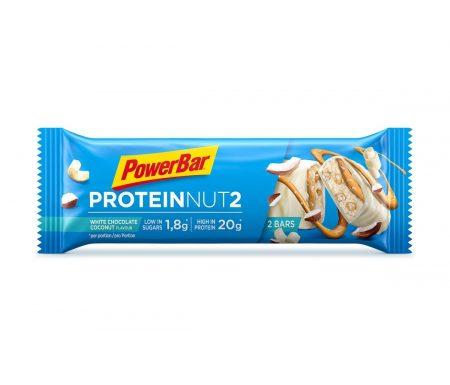 Powerbar Protein Nut2 – White chocolate coconut – 2×30 gram