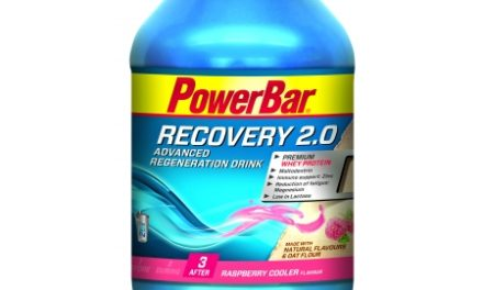 Powerbar – Recovery 2.0 – Hindbær – 1.144 gram