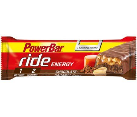 Powerbar Ride – Chocolate caramel +magnesium – 55 gram