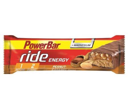 Powerbar Ride – Peanut caramel +magnesium – 55 gram