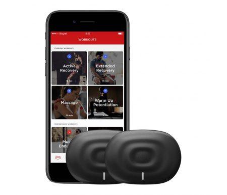 PowerDot Duo – Smart muskel stimulator – Sort