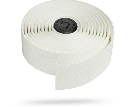 PRO – Styrbånd Race Comfort – Hvid – Silikone bagside