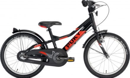 "Puky – Børnecykel ZLX 18-3 Alu 18"" med 3 gear – Sort/rød"