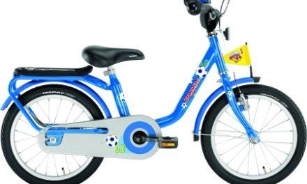 "Puky – Drengecykel – Z 6 16"" i stål – Blå"