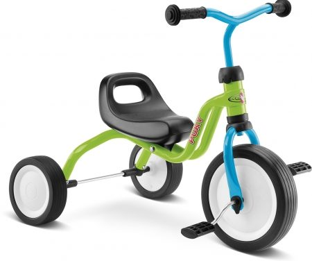 Puky Fitsch – Trehjulet cykel fra 1 ½  år/80 cm – Kiwi