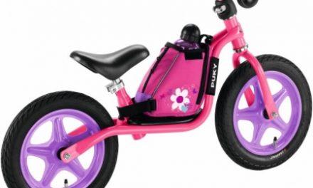 Puky – LRT – Løbecykeltaske med bæresele – Pink
