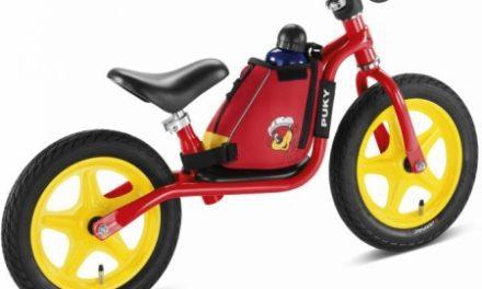 Puky – LRT – Løbecykeltaske med bæresele – Rød