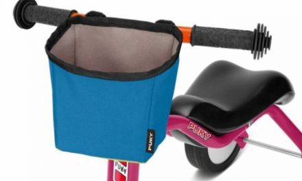 Puky – LT 3 – Taske til styr – Pukylino, Wutsch & Fitsch – Blå