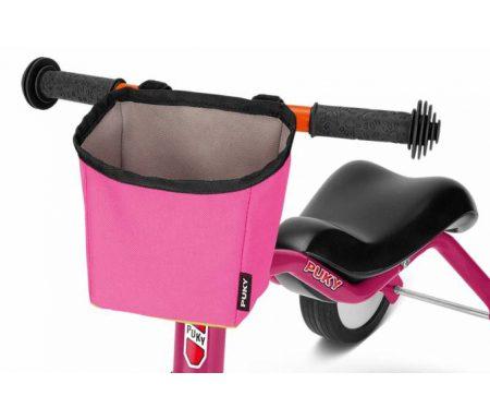 Puky – LT 3 – Taske til styr – Pukylino, Wutsch & Fitsch – Pink