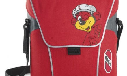 Puky – LT2  – Rød/gul med bjørn – Styrtaske