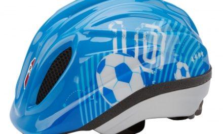 Puky PH 1 – cykelhjelm – Str. 46-51 cm – Blå fodbold