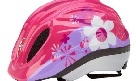 Puky PH 1 – Cykelhjelm – Str. 46-51 cm – Pink med motiv