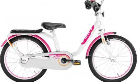 """Puky – Pigecykel – Z 8 Edition 18"""" i stål – Hvid/pink"""