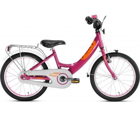 "Puky – Pigecykel – ZL 18 Alu Edition 18"" i alu – Kirsebær/orange"