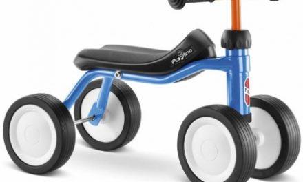 Puky – Pukylino – Løbecykel fra 1 år/ 75 cm –  Blå/Orange