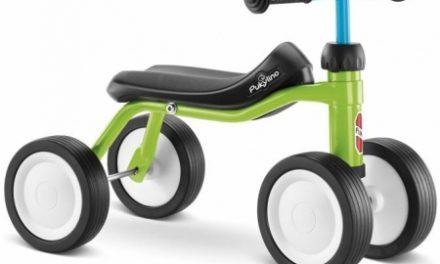 Puky – Pukylino – Løbecykel  fra 1 år/ 75 cm – Grøn/Blå