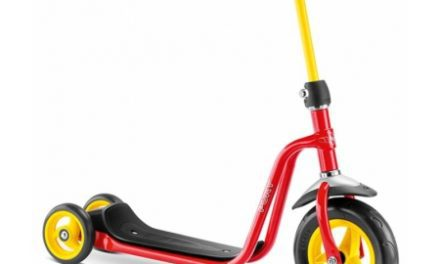 Puky – R 1 – Trehjulet løbehjul til børn – Rød