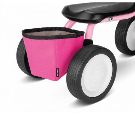 Puky – RT 1 – Taske til stel – Pukylino & Wutsch – Pink