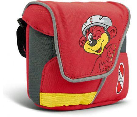 Puky – Styrtaske – Rød/gul med bjørn