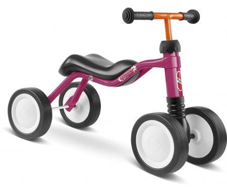 Puky – Wutsch – Løbecykel – fra 1,5 år/ 80 cm – Pink/Hindbærfarvet