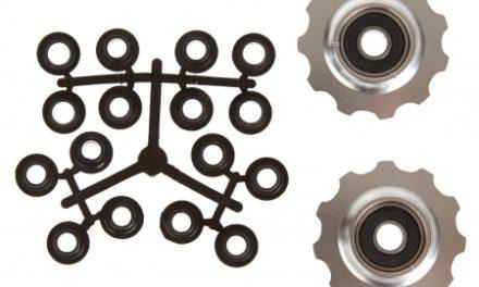 Pulleyhjul 11 tands i aluminium sølv med lukkede lejer – Shimano 9 og 10 gear